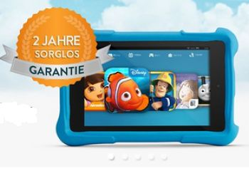 "Kindle Fire HD Kids Edition-Tablet mit ""Sorglos-Garantie"" (Bild: Amazon.de)"