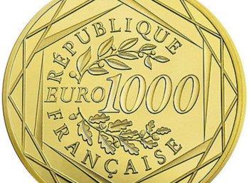 Ebay: 1000-Euro-Goldmünze aus Frankreich für 1000 Euro frei Haus