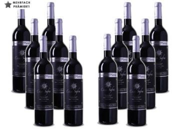 """Weinvorteil: 12-er Paket prämierter """"Casa Safra - Selección Platino"""" für 45 Euro"""
