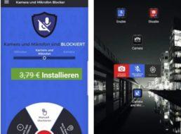 """Gratis: App """"Mikrofon- und Kamerablocker"""" für kurze Zeit zum Nulltarif"""