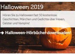 Gratis: 40 Halloween-Hörbücher bei Vorleser.net zum Nulltarif