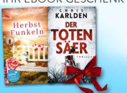 Gratis: Thriller und Roman im Wert von 29 Euro als eBook kostenlos