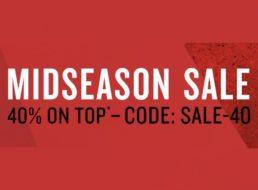 Tom Tailor: 40 Prozent Rabatt auf bereits reduzierte Sale-Artikel
