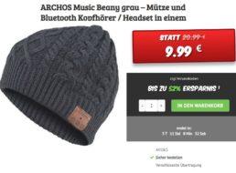 Dealclub: Archos Music Beany mit Bluetooth-Headset für 9,99 Euro frei Haus