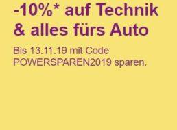 Ebay: Zehn Prozent Rabatt auf Technik und Audio