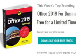 "Gratis: eBook ""Office 2019 for Dummies"" zum Nulltarif"