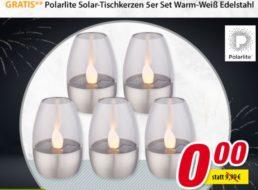 Gratis: Solar-Tischkerzen-Set bei Völkner ab 40 Euro Warenwert geschenkt