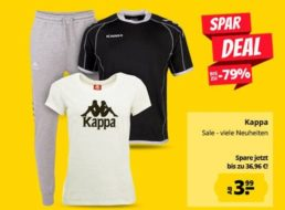Kappa: Sale bei Sportspar mit Artikeln ab 3,99 Euro