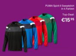 Puma: Sweatshirts für 15,95 Euro frei Haus bei Ebay