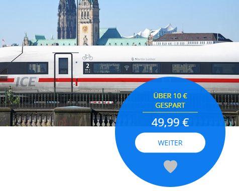 Travelzoo: Bahn-Gutschein über 60 Euro für 44,99 Euro via Paypal