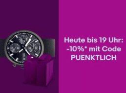 Ebay: Last-Minute-Geschenke mit 10 Prozent Rabatt bis 19 Uhr