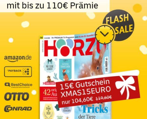 Hoerzu: Jahresabo für 104,60 Euro mit Gutschein über 110 Euro