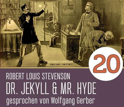 """Gratis: Hörbuch """"Dr. Jekyll und Mr. Hyde"""" mit 3,5 Stunden Spielzeit"""