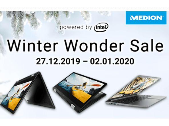 Medion: Sale bei Notebooksbilliger mit bis zu 300 Euro Rabatt
