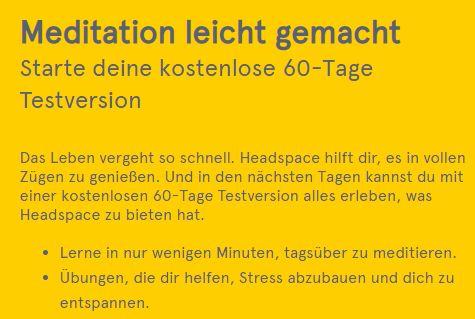 """Gratis: Zwei Monate """"Headspace""""-Meditationen zum Nulltarif"""