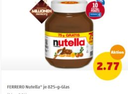 Penny: Nutella zum Kilopreis von 3,36 Euro mit 10 Payback-Punkten