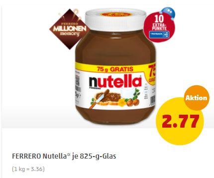 Penny: Nutella zum Kilopreis von 3,36 Euro mit zehn Payback-Punkten