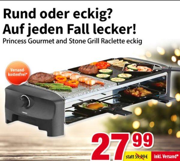 Völkner: Raclette-Grill für 27,99 Euro frei Haus