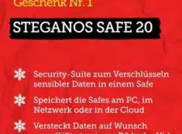 Gratis: Steganos-Safe und Software-Updater im Heise-Adventskalender