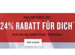 Tom Tailor: 24 Prozent Rabatt auf reduzierte Sale-Artikel