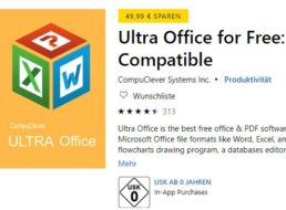 """Gratis: """"Ultra Office"""" für 0 statt 49,99 Euro"""