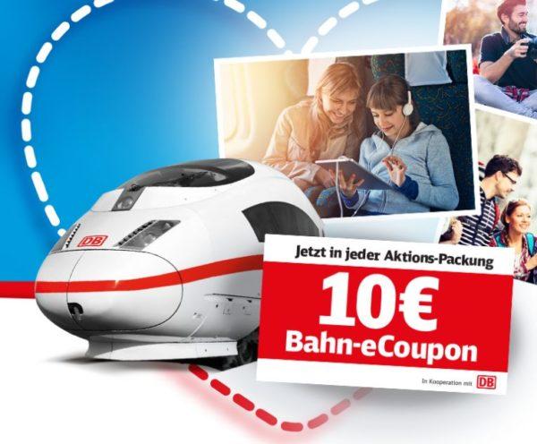 Gratis: Bahn-Gutscheine über 10 Euro in Duplo- und Hanuta-Packungen