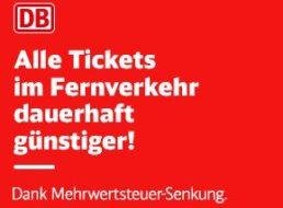 Bahn: Super-Sparpreis jetzt für 17,90 statt 19,90 Euro
