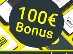 Gratis: 100 Euro Bonus zum kostenlosen Comdirect-Girokonto