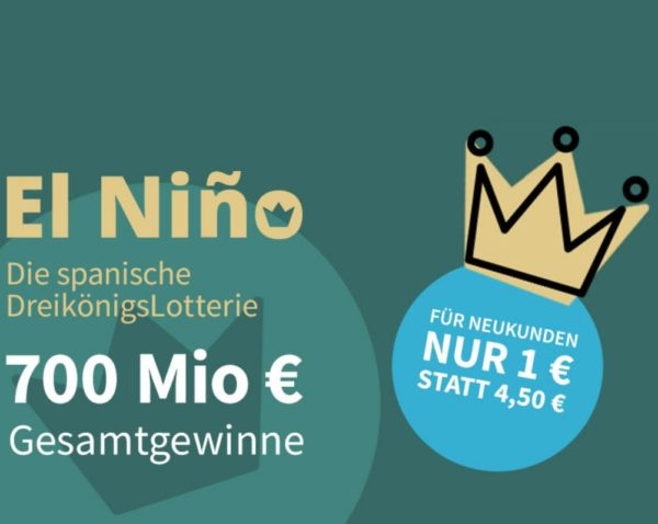 El Nino: Los zur spanischen Dreikönigslotterie für nur einen Euro