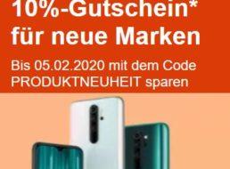 """Ebay: 10 Prozent Rabatt auf """"Produktneuheiten"""" für eine Woche"""