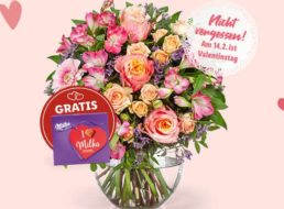 Lidl Blumen: 20 Prozent Rabatt auf alles bis zum Valentinstag