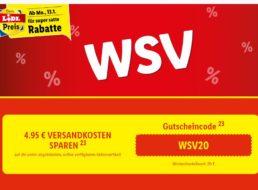 Lidl: WSV mit Gratis-Versand ab 20 Euro Warenwert