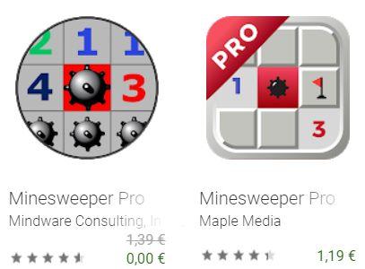 Gratis: App Minesweeper Pro für wenige Tage zum Nulltarif