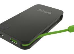 Ebay: Powerbank Ninetec NT-608 mit integriertem Ladekabel für 8,88 Euro