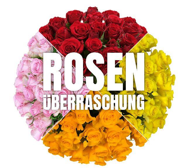 Blumeideal: Rosenüberraschung mit 40 Blumen für 22,94 Euro