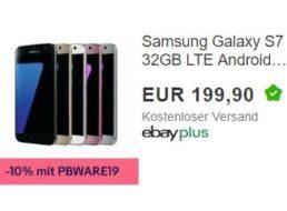 Ebay: Samsung Galaxy S7 als B-Ware für 179,91 Euro