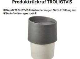 Chemie-Alarm: Ikea ruft Trinkbecher Troligtvis zurück
