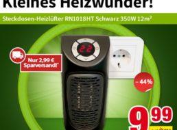 Völkner: Mini-Heizlüfter mit 350 Watt für 9,99 Euro frei Haus