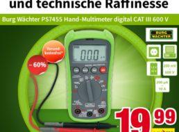 """Völkner: Multimeter """"Burg Wächter PS7455"""" zum Bestpreis von 19,99 Euro"""