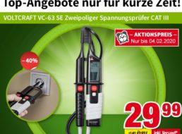 Völkner: Spannungsprüfer von Voltcraft für 29,99 Euro frei Haus