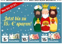 Weltbild: Bis zu 15 Euro Rabatt bis Dienstag abend
