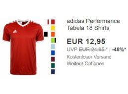 Adidas: Atmungsaktives Fußballtrikot für 12,95 Euro frei Haus