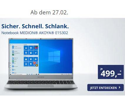 Notebook Medion Akoya E15302