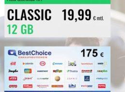 Knaller: 12 GByte echtes LTE für junge Leute zum Preis von 13,11 Euro