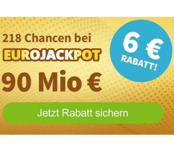 Euro-Jackpot: Beim Rekordstand gratis oder mit 6 Euro Rabatt mitspielen