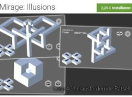 """Gratis: App """"Mirage: Illusions"""" bei Google Play für 0 statt 2,29 Euro"""