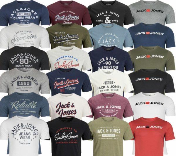 Jack & Jones: T-Shirts für 9,99 Euro frei Haus via Ebay