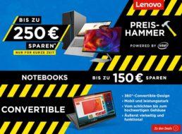 Notebooksbilliger: Lenovo-Sale mit bis zu 250 Rabatt bis Dienstag