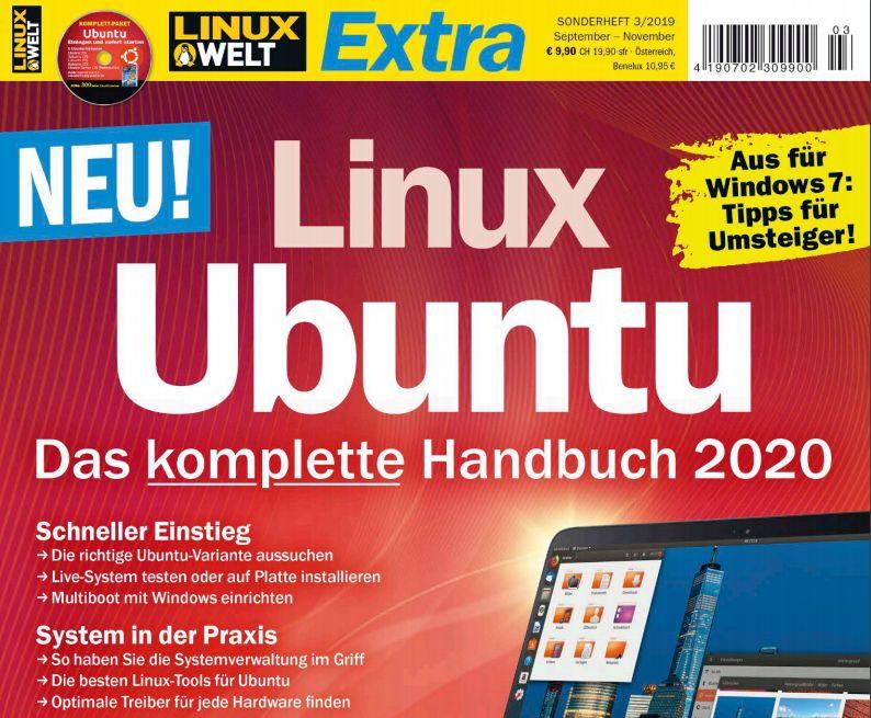 """Gratis: PDF """"Ubuntu - Das komplette Handbuch"""" als Dankeschön für Umfrage"""