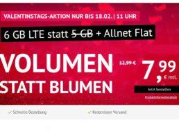 Handyvertrag.de: 6 GByte LTE und Allnet-Flat für 7,99 Euro
